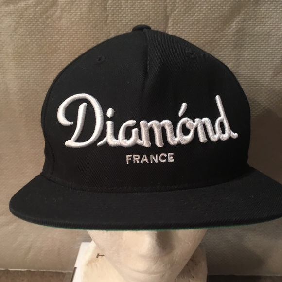 cc1a5a7500d6ea Diamond Supply Co. Accessories | 1 Diamond France Snapback Hat ...